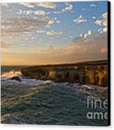My Land Is The Sea Canvas Print by Stelios Kleanthous