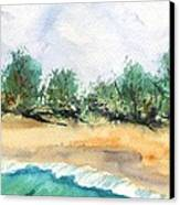 My Secret Beach Canvas Print by Marionette Taboniar