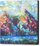 My Vision Say It Out Loud Canvas Print by Chrisann Ellis
