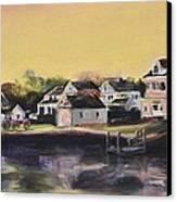 Mystic Morning Canvas Print by Donna Tuten
