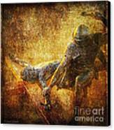 Nailed To The Cross Via Dolorosa 11 Canvas Print by Lianne Schneider