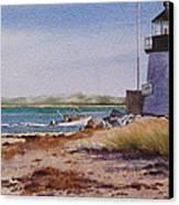 Nantucket Winter Light Canvas Print by Karol Wyckoff