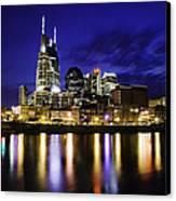 Nashville Skyline Canvas Print by Lucas Foley