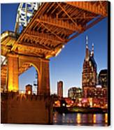 Nashville Tennessee Canvas Print by Brian Jannsen