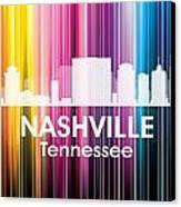 Nashville Tn 2 Canvas Print by Angelina Vick