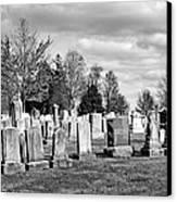 National Cemetery - Gettysburg Battlefield Canvas Print by Brendan Reals