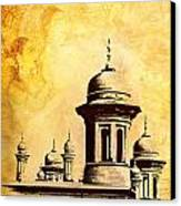 National College Of Arts Lahore Canvas Print by Catf