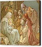 Nativity Canvas Print by John Lawson