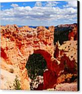 Natural Bridge In Bryce Canyon National Park Canvas Print by Dan Sproul