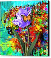 Nature Vs Caos Canvas Print by Gary Grayson