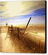 Nauset Beach Early Morning Canvas Print by Dapixara Art