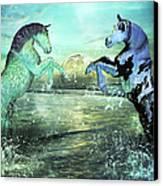 Nautical Treasures Canvas Print by Betsy Knapp