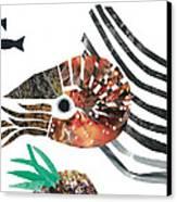 Nautilus Canvas Print by Earl ContehMorgan