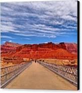 Navajo Bridge Canvas Print by Dan Sproul