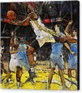 NBA Canvas Print by Georgi Dimitrov