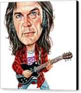 Neil Young Canvas Print by Art