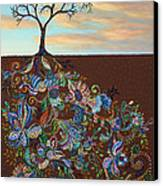 Neither Praise Nor Disgrace Canvas Print by James W Johnson