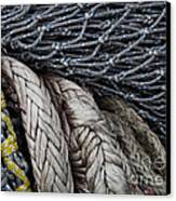 Nets And Knots Number Two Canvas Print by Elena Nosyreva