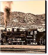 Nevada Northern Railway Canvas Print by Robert Bales