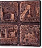 New Mexico Churches Canvas Print by Ricardo Chavez-Mendez