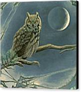New Moon   Canvas Print by Paul Krapf