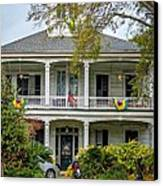 New Orleans Frat House Canvas Print by Steve Harrington