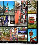 New Orleans Canvas Print by Steve Harrington