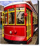 New Orleans Streetcar  Canvas Print by Paul Velgos