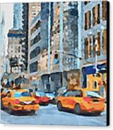 New York 2 Canvas Print by Yury Malkov
