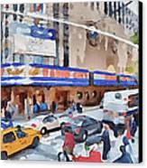 New York 4 Canvas Print by Yury Malkov