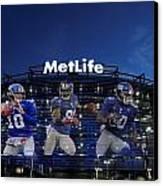 New York Giants Metlife Stadium Canvas Print by Joe Hamilton