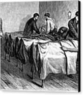 New York: Heatstroke, 1876 Canvas Print by Granger