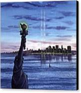 New York  Canvas Print by John YATO