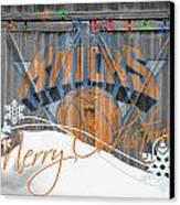 New York Knicks Canvas Print by Joe Hamilton