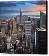 New York New York Canvas Print by Inge Johnsson