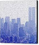 New York Skyline Canvas Print by Jon Neidert