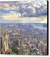 New York State Of Mind Canvas Print by Mandy Wiltse