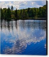 New York's Lake Abanakee Canvas Print by David Patterson