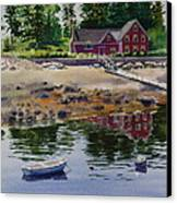 Newagen Dingy Canvas Print by Karol Wyckoff