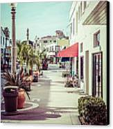 Newport Beach Main Street Balboa Peninsula Picture Canvas Print by Paul Velgos