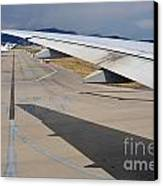 Nice Internationat Airport Canvas Print by Sami Sarkis