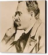 Nietzsche Canvas Print by Anonymous