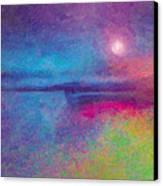 Night Dream Canvas Print by The Art of Marsha Charlebois