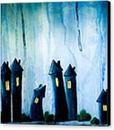 Night Owls Canvas Print by Nirdesha Munasinghe
