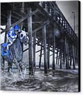 Night Run II Canvas Print by Betsy Knapp