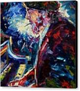 Night Tripper Canvas Print by Debra Hurd