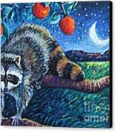 Night Visitor Canvas Print by Harriet Peck Taylor