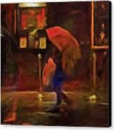 Nightlife Canvas Print by Michael Pickett