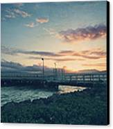 Nights Like These Canvas Print by Laurie Search
