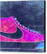 Nike Blazer 2 Canvas Print by Alfie Borg